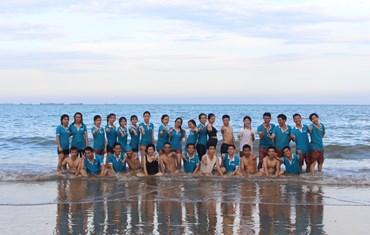 Sapo-er HCM du lịch hè biển Ninh Chữ, Ninh Thuận - 2017