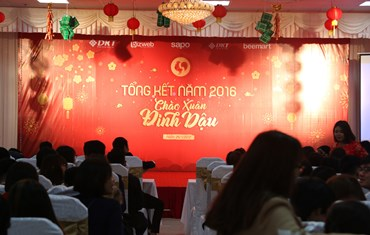 Lễ tổng kết năm 2016 và chào xuân mới cùng Sapo - 2016