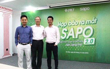 Họp báo ra mắt Sapo 2.0 - 2016