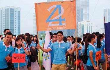 Sinh nhật Sapo 8 tuổi - tưng bừng hội thao tại Hà Nội - 2016