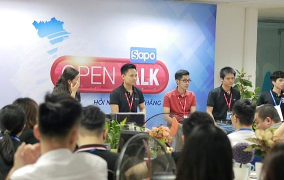 Open Talk - Hỏi ngay đáp thẳng cùng Sapo-er
