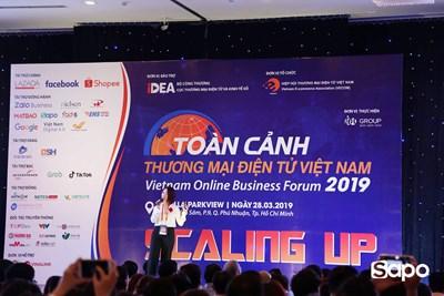[HCM] Sapo đồng hành cùng diễn đàn TMĐT Việt Nam VOBF 2019