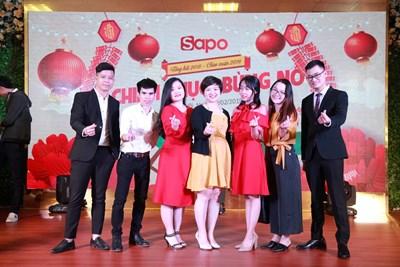 Sapo-ers 2 miền tưng bừng trong lễ tổng kết 2018 - chào xuân 2019