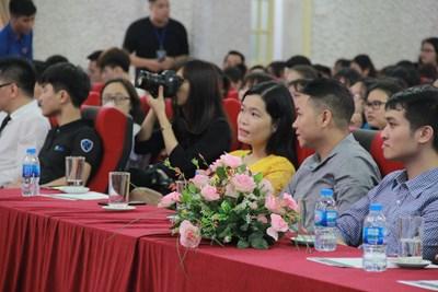 Sapo tại ngày hội việc làm trường Đại học Thương Mại - 2018