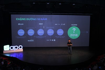 Toàn cảnh sự kiện ra mắt Sapo X 17.4 - 2018